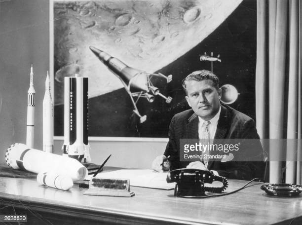 Germanborn rocket pioneer Dr Wernher von Braun