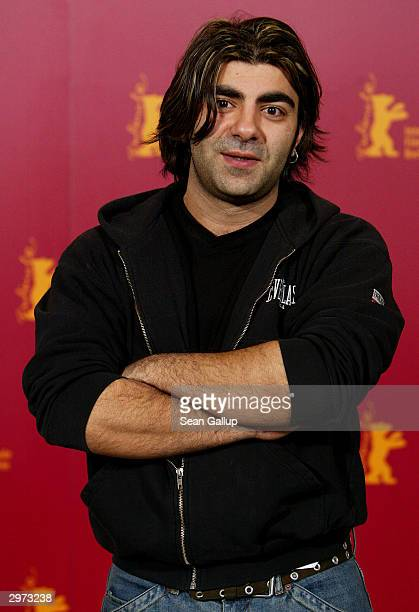 """German-born Turkish film director Fatih Akin attends the photocall to the Turkish film """"Head On"""" at the 54th annual Berlinale International Film..."""