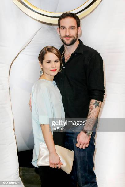 German-brasilian actress Cristina do Rego and her boyfriend german actor Matthias Weidenhoefer attend the Presentation of the new Opel Calender 2017...