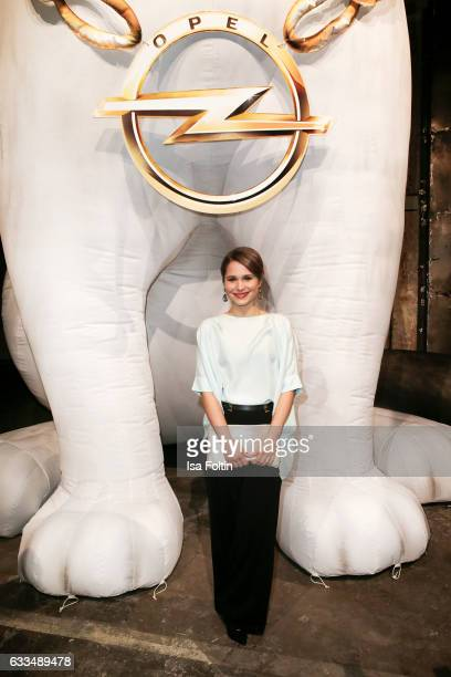 German-brasilian actress Cristina do Rego attends the Presentation of the new Opel Calender 2017 at Kraftwerk Mitte on February 1, 2017 in Berlin,...