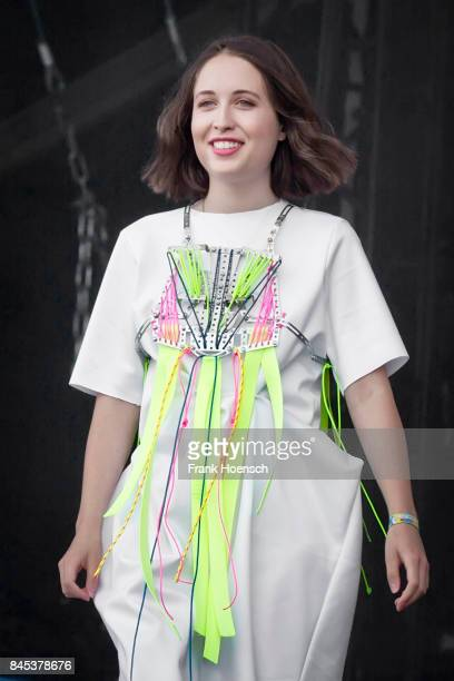 GermanBritish singer Alice Merton performs live on stage during second day at the Lollapalooza Festival on September 10 2017 in DahlwitzHoppegarten...