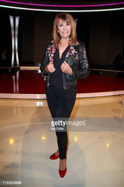 GermanBritish singer Ireen Sheer during the tv show Stefanie Hertel Die grosse Show zum Muttertag on May 8 2019 in Altenberg Germany