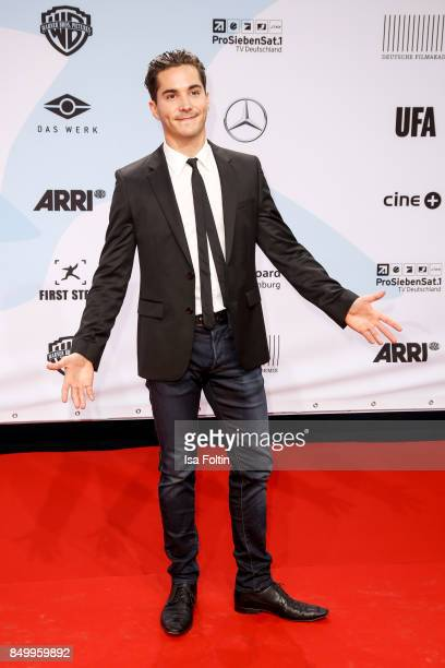 GermanFrench actor Francois Goeske attends the First Steps Awards 2017 at Stage Theater on September 18 2017 in Berlin Germany