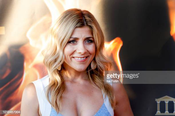 German-Greek presenter Panagiota Petridou attends the Remus Lifestyle Night on August 2, 2018 in Palma de Mallorca, Spain.