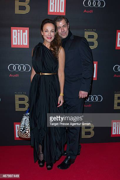 BERLIN GERMANSven Martinek attend the BILD 'Place to B' Party at Grill Royal on February 8 2014 in Berlin Germany