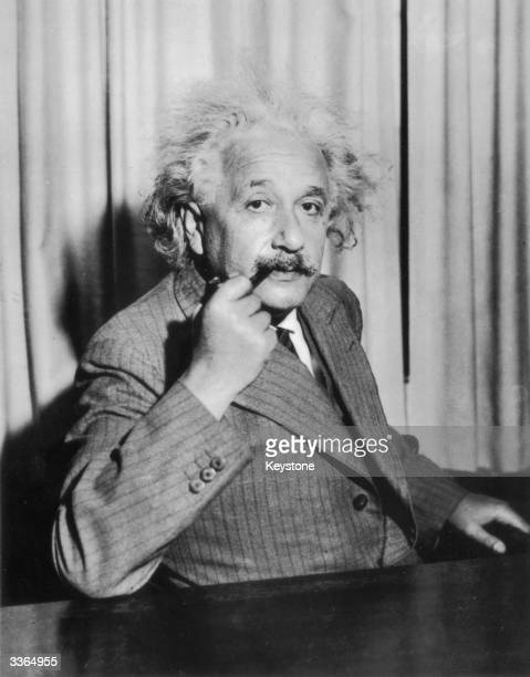 German-Swiss-American mathematical physicist Albert Einstein .