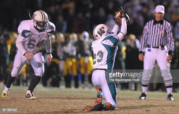 Germantown MD Westlake defeats Seneca Valley 2421 in OT Here Westlake holder Devin Davinson hauls in a bad snap to get the ball placed for kicker...