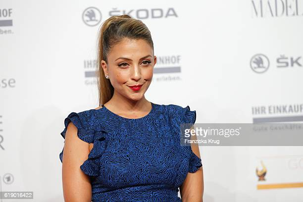 Germanturkish actress Arzu Bazman attends the Goldene Henne on October 28 2016 in Leipzig Germany
