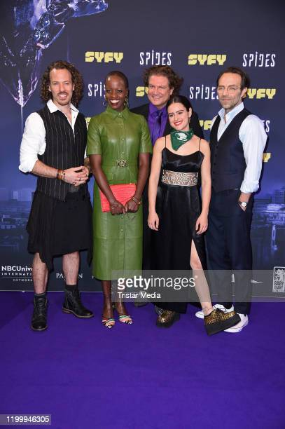 GermanUS actor Falk Hentschel Florence Kasumba Francis Fulton Smith italianUS actress Rosabell Laurenti Sellers and Aleksandar Jovanovic attend the...