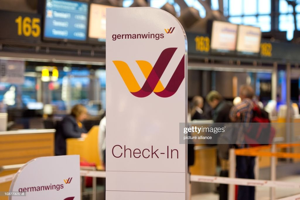 Germanwings Check In At The Airport In Stuttgart Germany 29 August