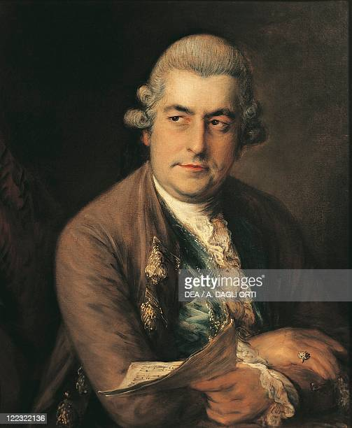 Germany 18th century Portrait of Johann Christian Bach German composer