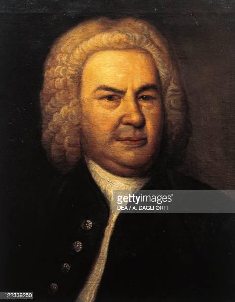 Germany 18th century Portrait of Johann Sebastian Bach German composer and organist