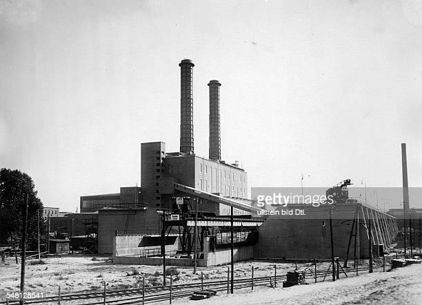 Germany 19451949 Berlin The Power Station West Photographer Walter Gircke Vintage property of ullstein bild