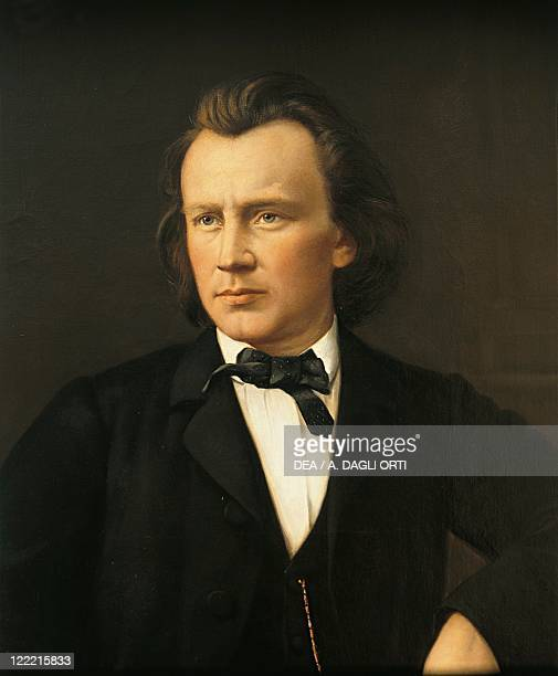 Germany 19th century Portrait of Johannes Brahms German composer and pianist