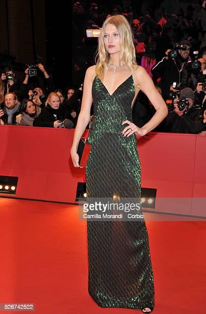 Germany 66 Berlin Film Festival Toni Garn during the premiere of the film Heil Caesar