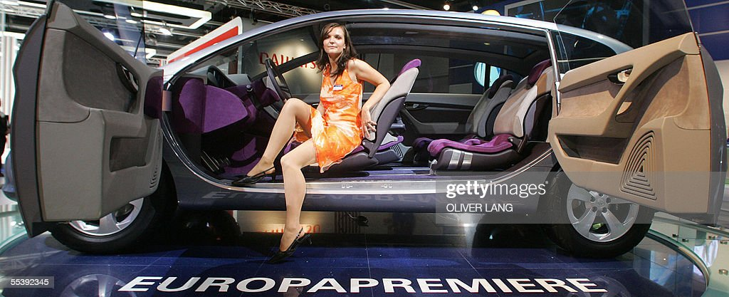 A Fair Hostess Presents A Hyundai Portic Pictures Getty Images