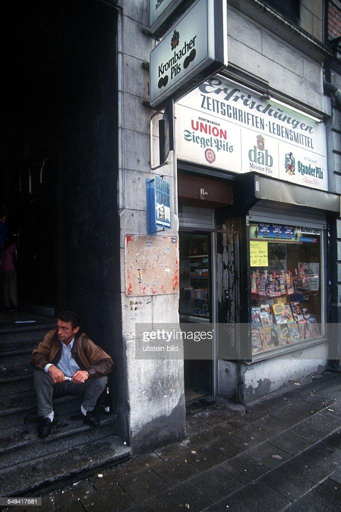 DEU, Germany: a kiosk in Gelsenkirchen. : News Photo