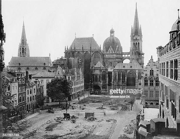 Germany Aachen cathedral around 1902 taken by Stengel Co