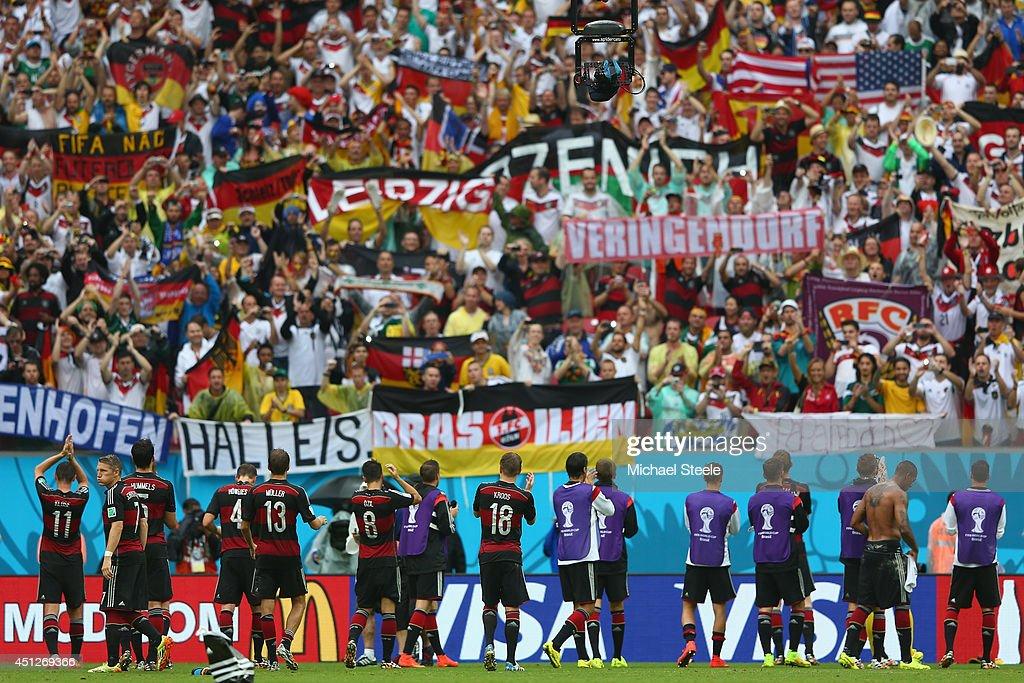 USA v Germany: Group G - 2014 FIFA World Cup Brazil : Nieuwsfoto's