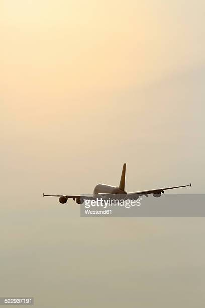 Germany, Airbus A380 mid air