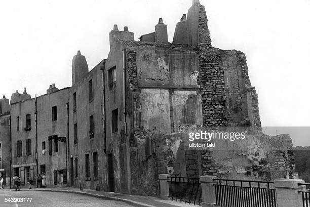 Germany AlsaceLorraine imperial territory Metz 2WW france german occupation View on the bombed district 1940 Photographer Erich Engel Published by...