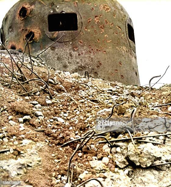 Germany at war Signal magazine 1940 Blitzkrieg Bunker destroyed on the Maginot line The Maginot Line named after the French Minister of War Andre...