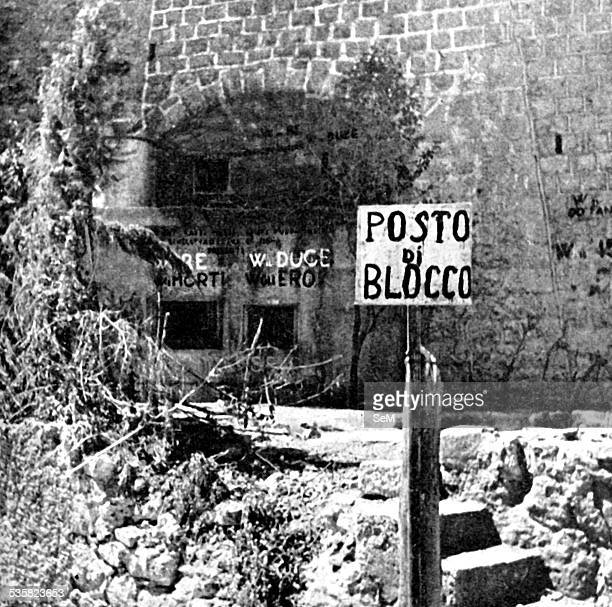 Germany at war Signal magazine 1940 France Italy attacks France from the Alps Signal Magazine 1940 Italian bunker on the border at Forte Ponte San...