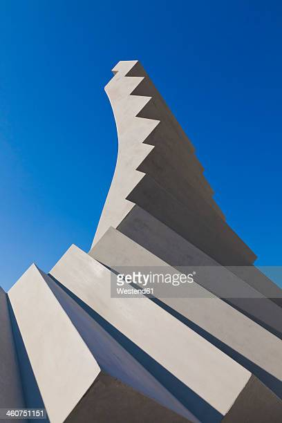 Germany, Baden Wuerttemberg, Concrete of spiral stairs