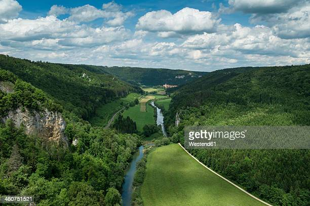 Germany, Baden Wuerttemberg, View of Upper Danube Valley