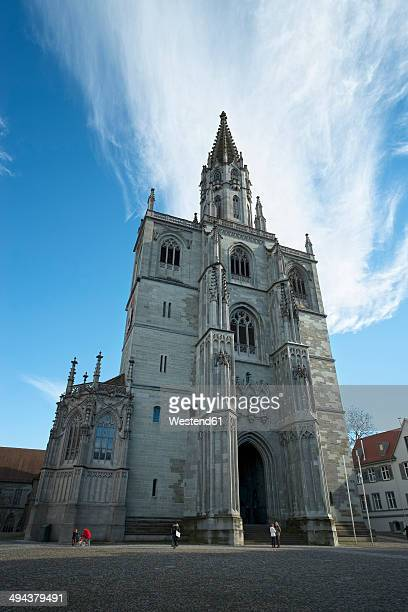 germany, baden-wuerttemberg, constance district, constance, konstanz minster - minster stock photos and pictures
