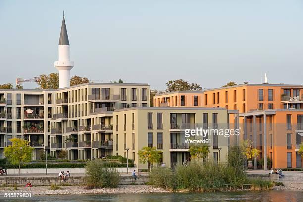 Germany, Baden-Wuerttemberg, Constance, Mevlana Mosque at Seerhein