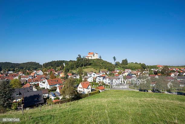 germany, baden-wuerttemberg, district of ravensburg, waldburg castle - ravensburg stock-fotos und bilder
