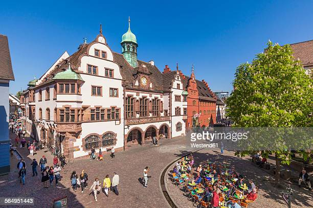 germany, baden-wuerttemberg, freiburg, new city hall - town hall stock pictures, royalty-free photos & images