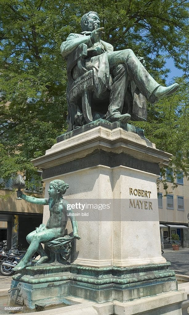 Germany - Baden-Wuerttemberg - Heilbronn: Palace Trappensee, Memorial for Robert Mayer : News Photo