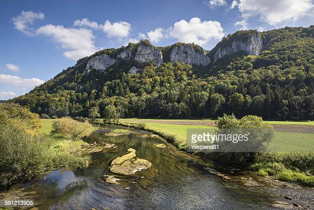 Germany, Baden-Wuerttemberg, Sigmaringen district, Danube near Hausen im Tal