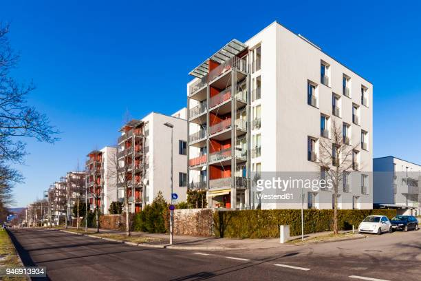 germany, baden-wuerttemberg, stuttgart, passive houses - sustainable architecture stock pictures, royalty-free photos & images