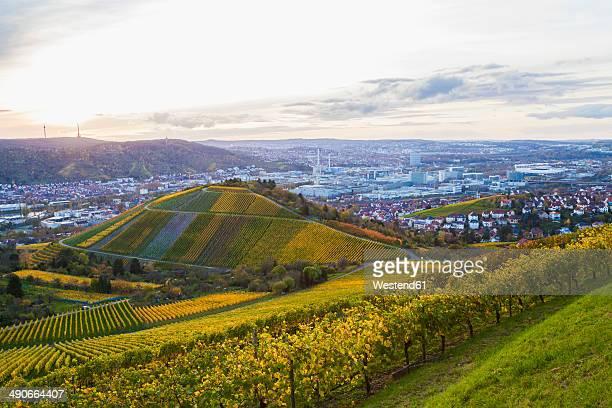 Germany, Baden-Wuerttemberg, Stuttgart, view to Untertuerkheim