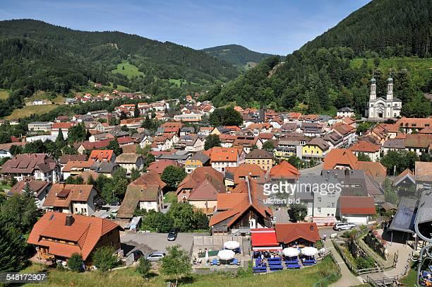 Germany BadenWuerttemberg Todtnau View