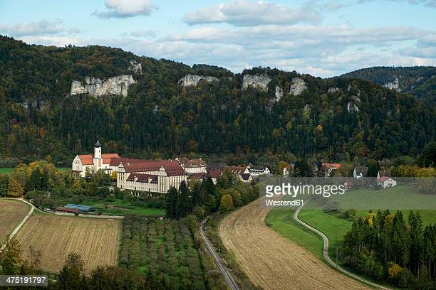Germany, Baden-Wuerttemberg, Tuttlingen, Beuron Archabbey, Upper Danube Valley