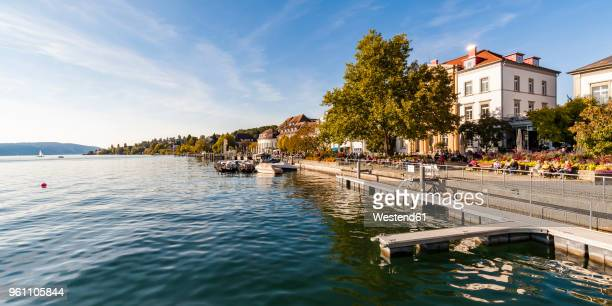 Germany, Baden-Wuerttemberg, Ueberlingen, lakeside promenade