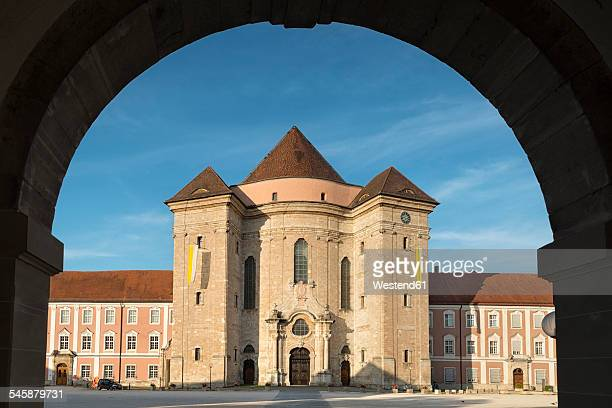 germany, baden-wuerttemberg, ulm, wiblingen abbey with basilica - ulm stock pictures, royalty-free photos & images