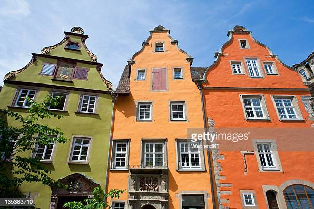 Germany, Baden-Wurttemberg, Schwabisch Hall, View of historic old houses at market place