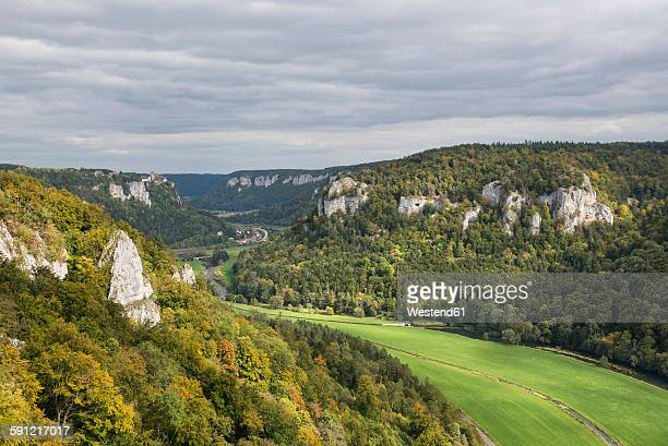 Germany, Baden-Wurttemberg, Upper Danube Valley near Sigmaringen