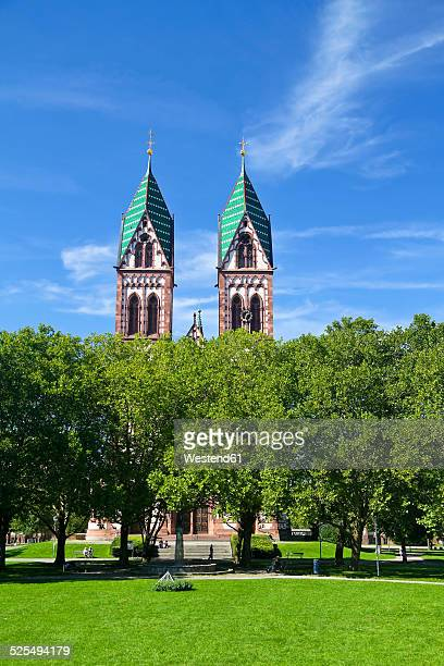 Germany, Baden-Wurttenberg, Freiburg, Church of the Sacred Heart
