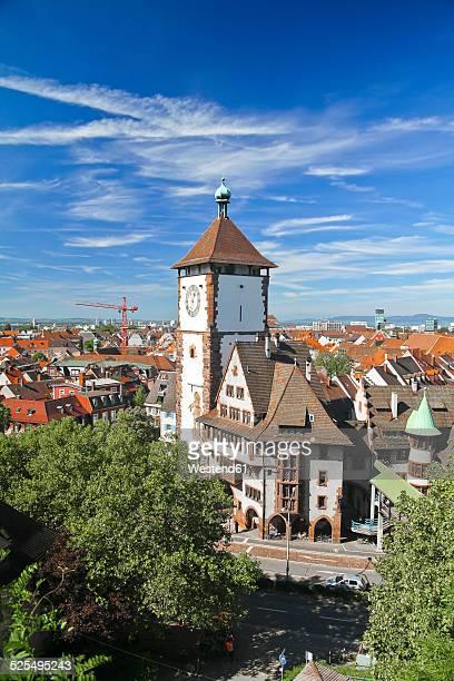 Germany, Baden-Wurttenberg, Freiburg, Swabian gate, Schwabentor