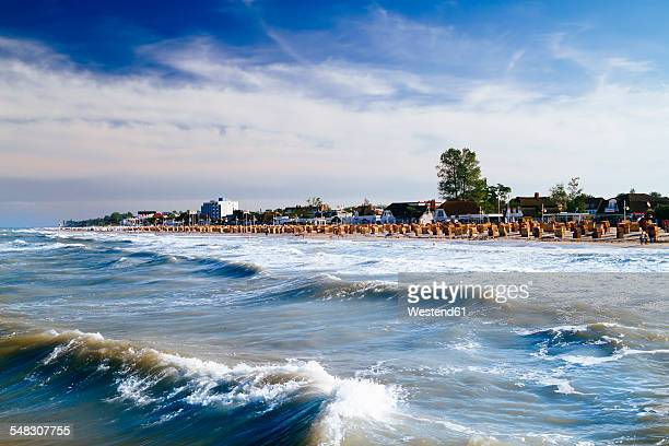 Germany, Baltic Sea, Dahme, view on the beach