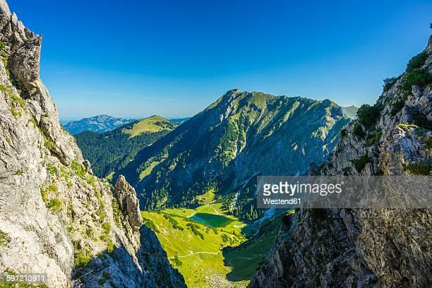 Germany, Bavaria, Allgaeu, Allgaeu Alps, Unterer Gaisalpsee