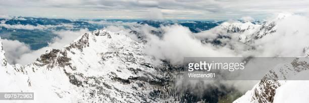 Germany, Bavaria, Allgaeu, Allgaeu Alps, winter onset