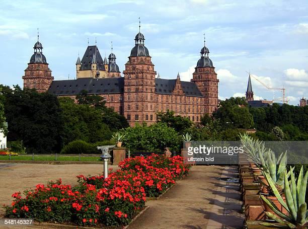 Germany Bavaria Aschaffenburg 'Johannisburg' castle