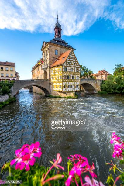 germany, bavaria, bamberg, - ハーフティンバー様式 ストックフォトと画像